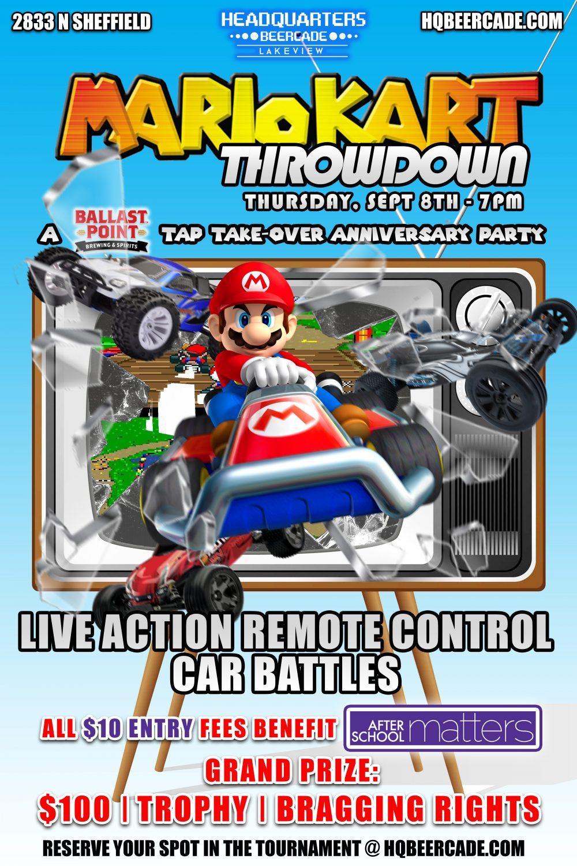 Mario Kart Throwdown