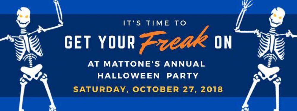 Mattone Halloween Party