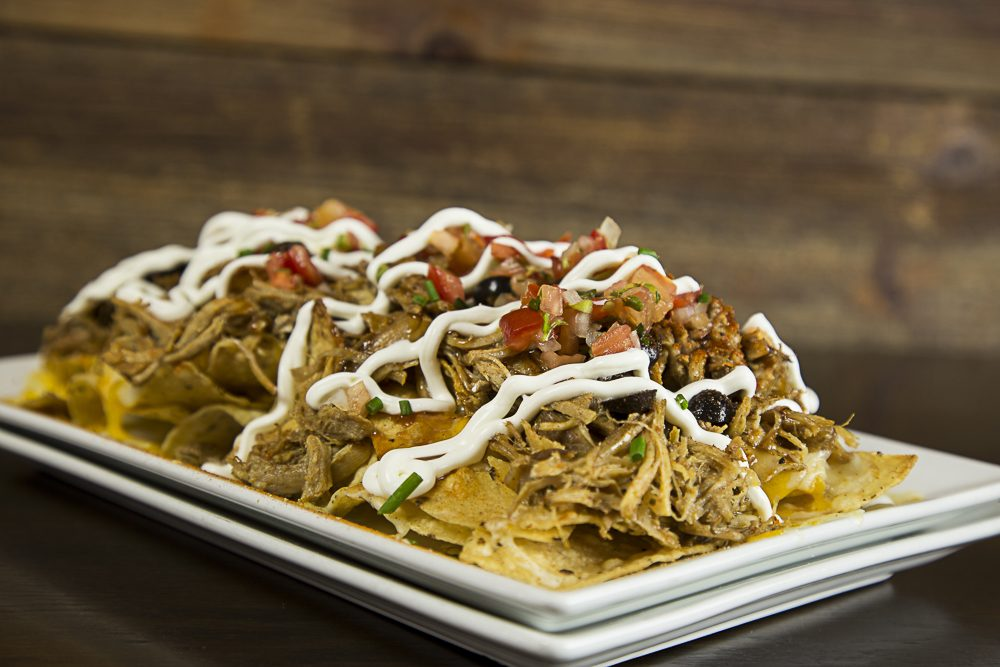 Houndstooth Saloon Pulled Pork Nachos