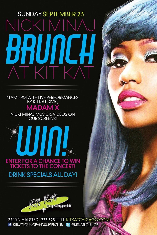 Nicki Minaj Brunch at Kit Kat Lounge & Supper Club