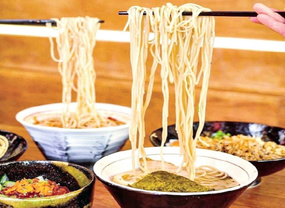 Noodle Month Strings Ramen