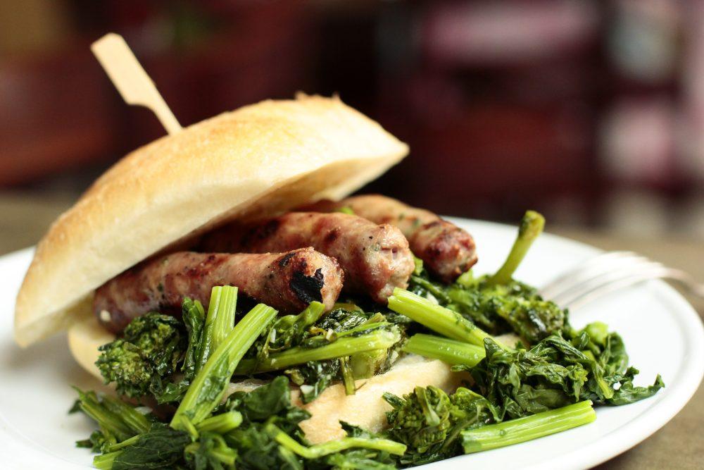 Panini Cime Di Rapa And Barese Sausage 2