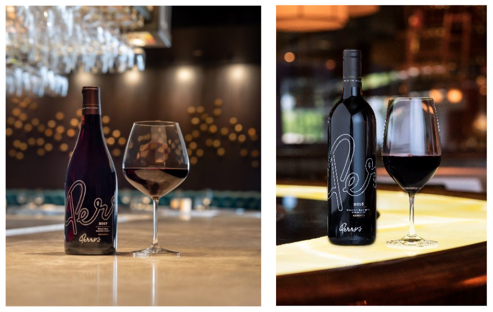 Perry's Reserve Pinot Noir and Perry's Reserve Cabernet Sauvignon