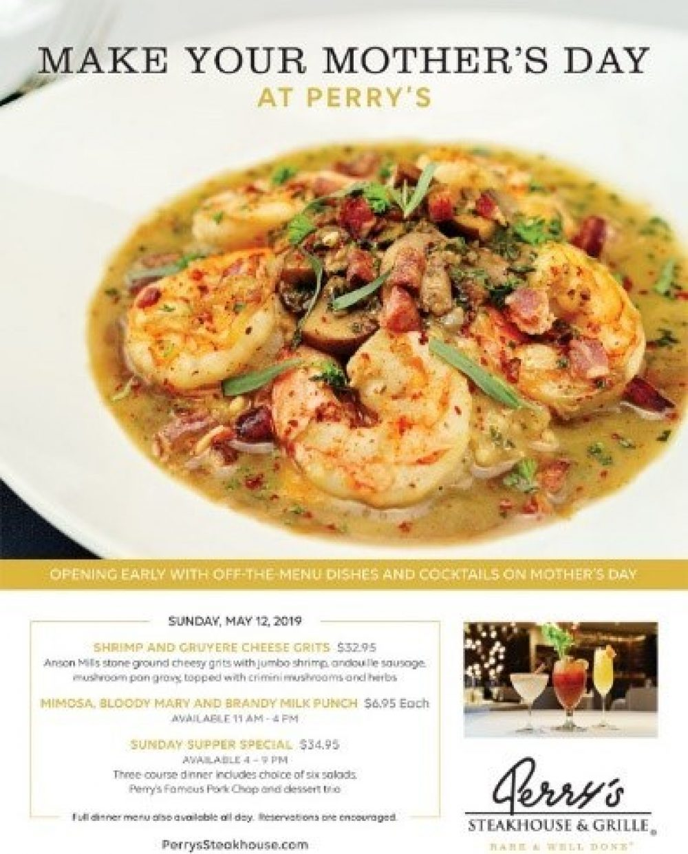 Poster Shrimp And Grits