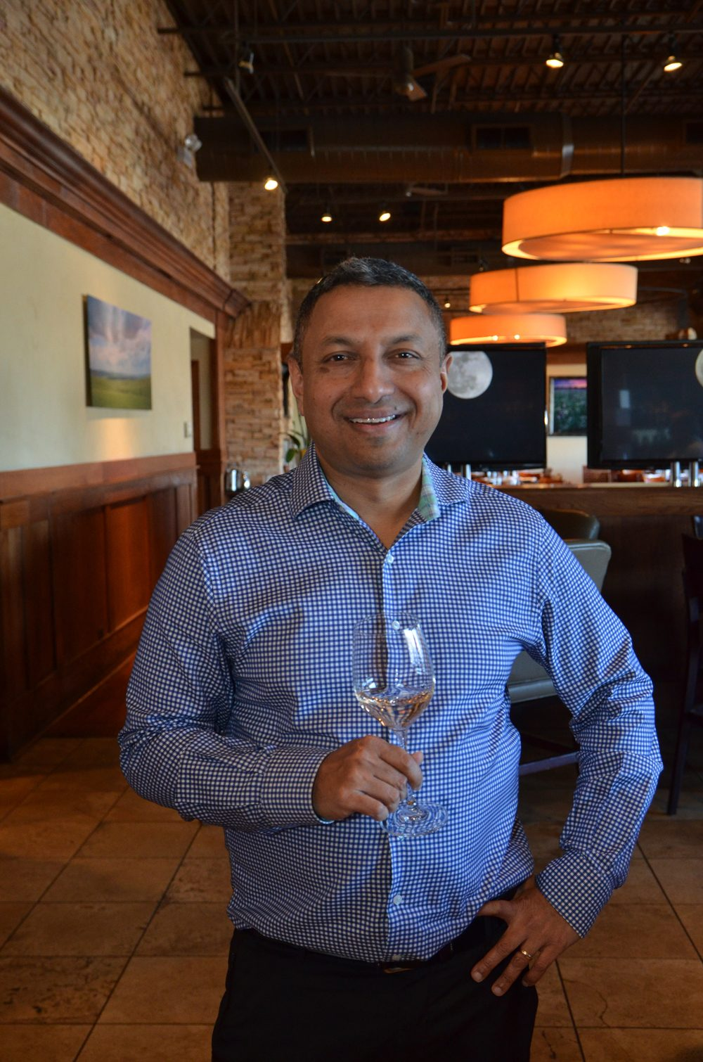 Rohit Nambiar, co-owner/Partner Wine Director