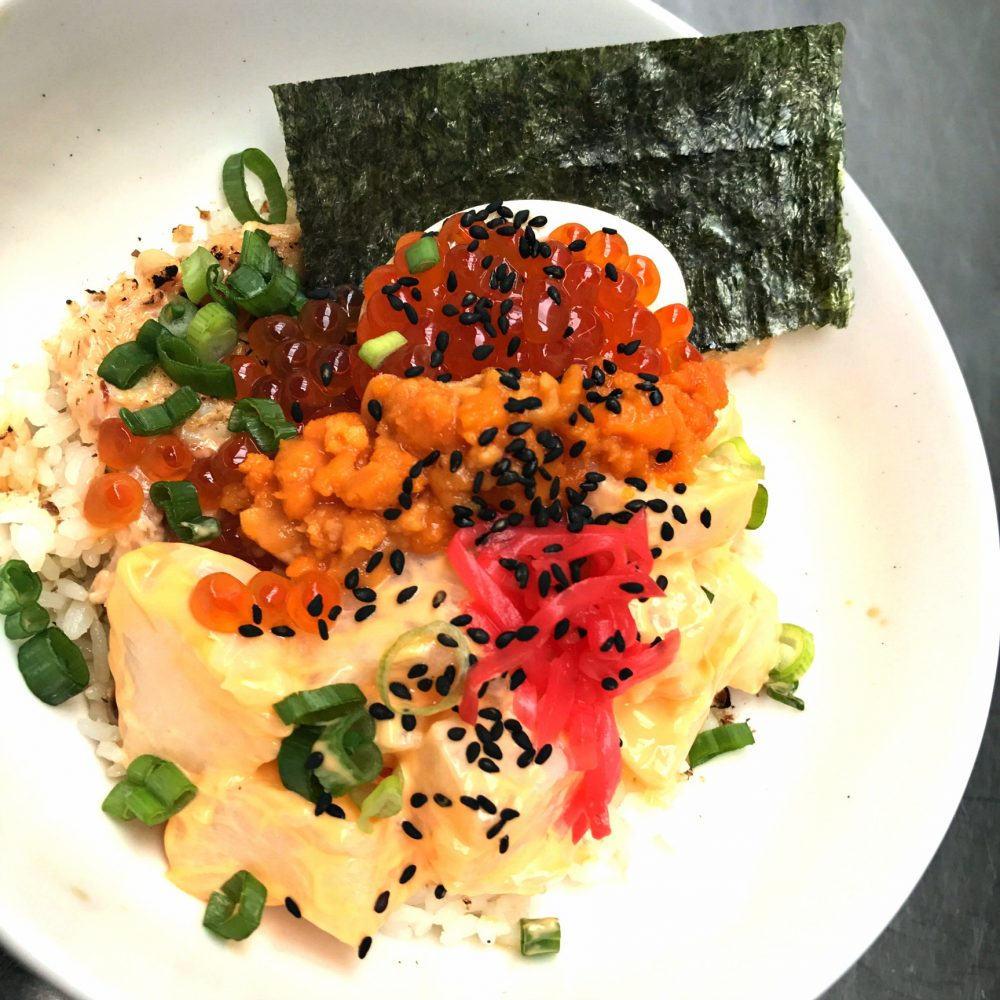 Strings Ramen Sashimi Bowl