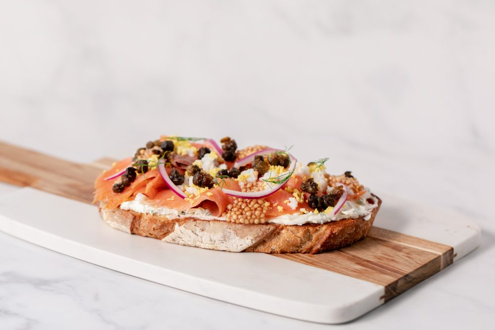 Scratchboard Kitchen Lox Toast 1