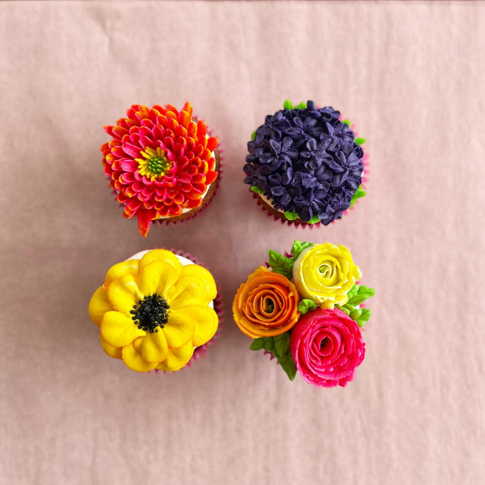 Sugargoat Mothers Day Flower Cupcakes 3 25 21