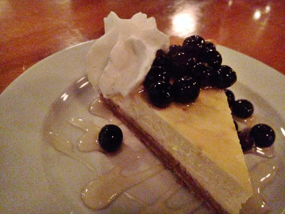 TWO Ricotta Cheesecake