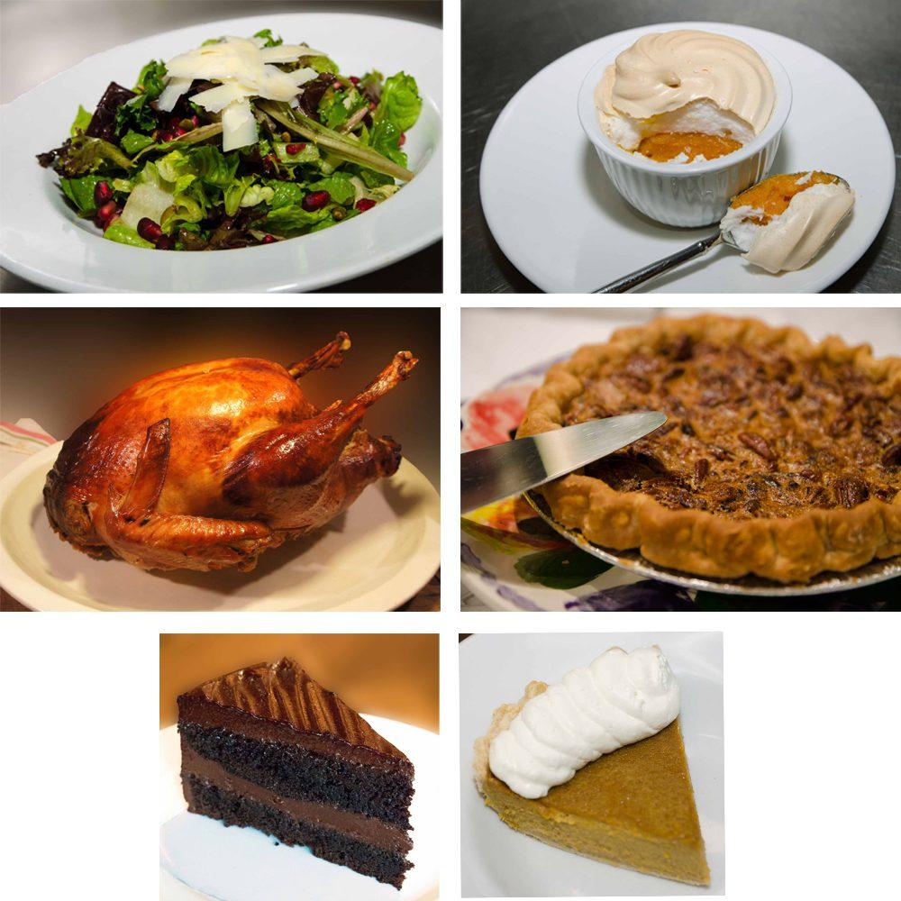 Prairie Grass Cafe Thanksgiving Menu