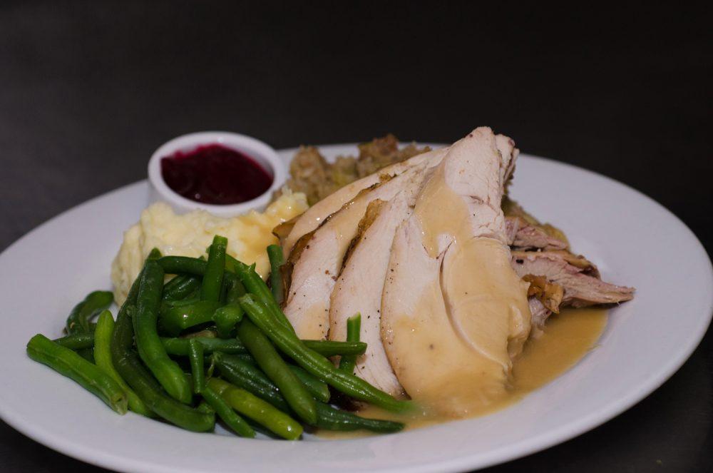 Thanksgiving dinner at Prairie Grass Cafe