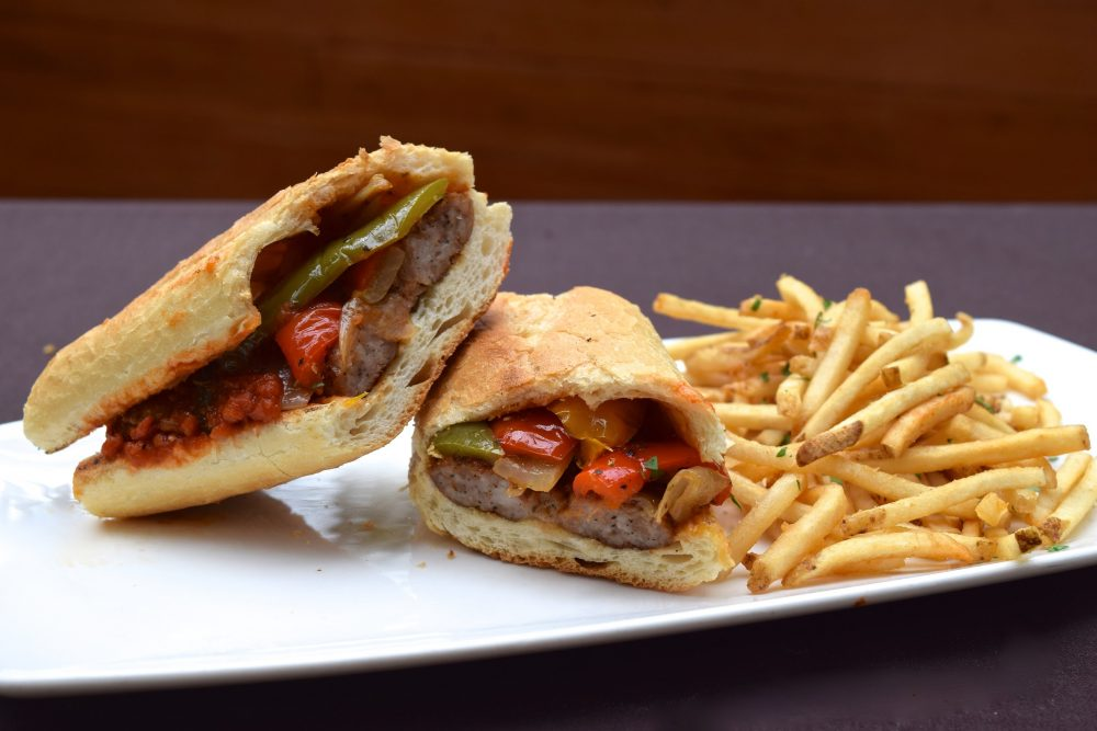Tuscany on Taylor Street National Sandwich Month Panino con Salsiccia Offering