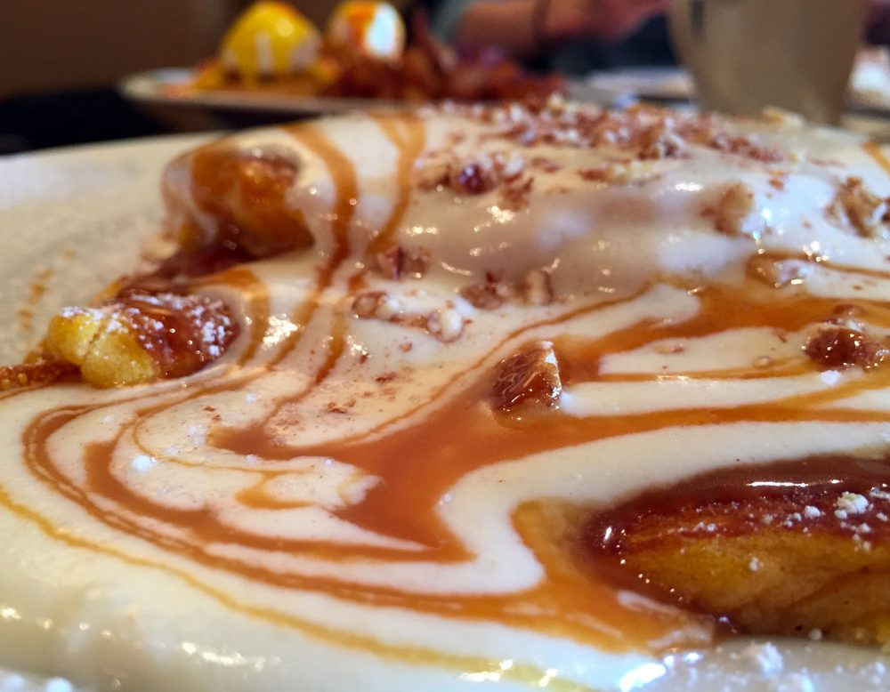 WHISK Chicago caramel pancakes