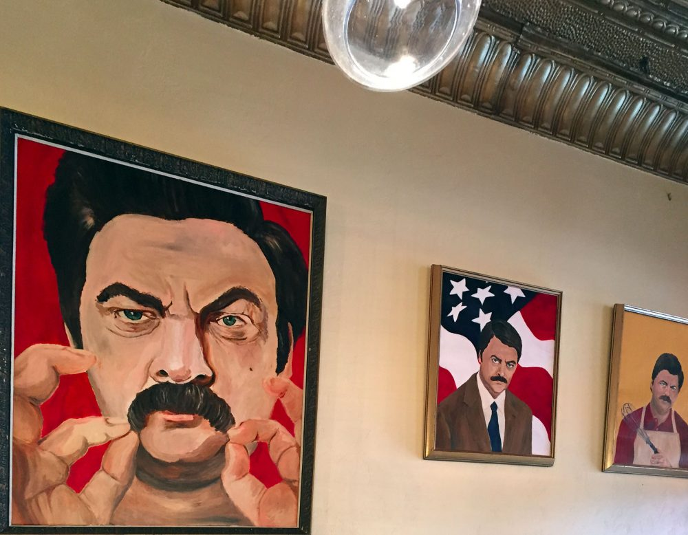 Ron Swanson Paintings WHISK Chicago