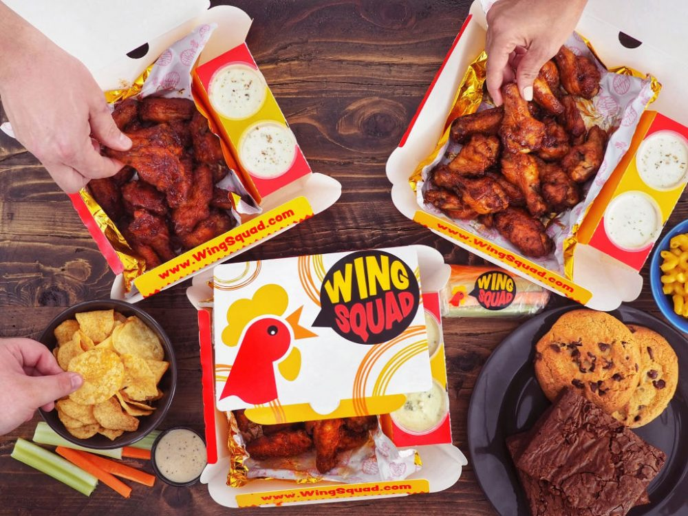 Wing Squad Game Day Party Wings