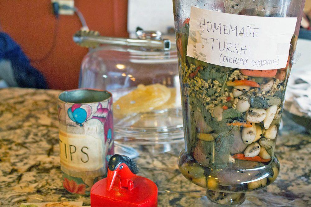 afghan kabob 0002 4-Homemade-pickled-eggplant-and-vegetables-Afghan-Kabob