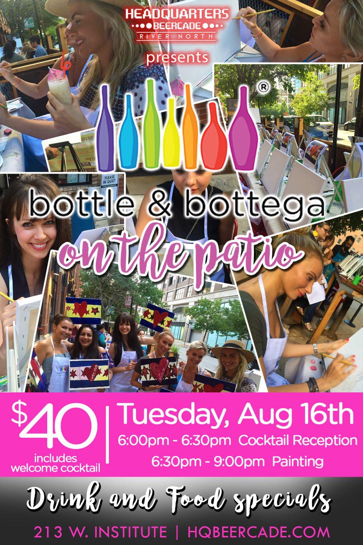 Bottle And Bottega On The Patio 08 16 3