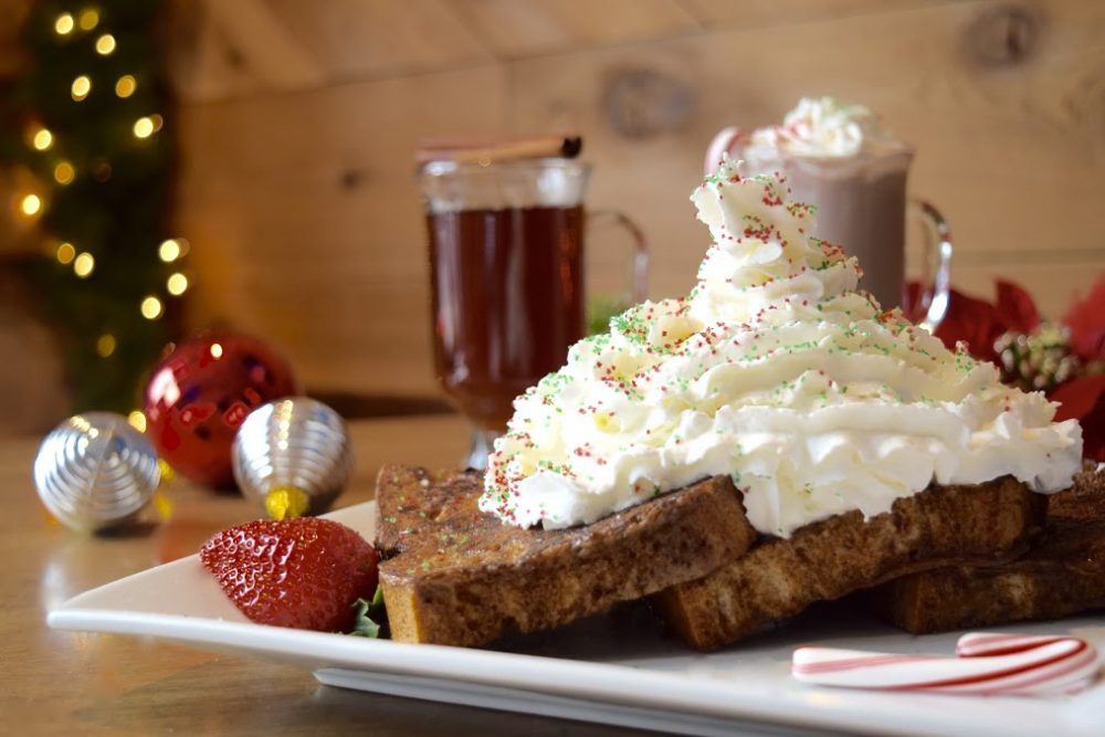 Commonwealth Tavern's nationally recognized Gingerbread French Toast