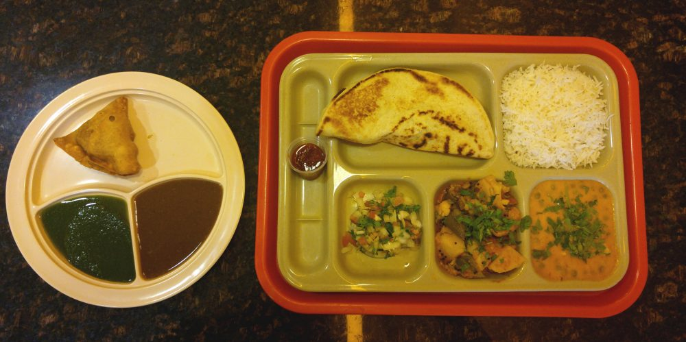 A Vegetarian Meal at Annapurna