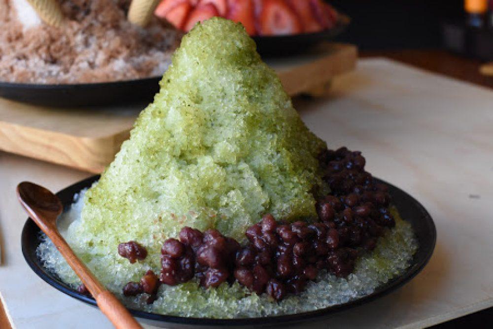 Kizuki Matcha Shaved Ice Courtesy Of Vanessa Vu Design