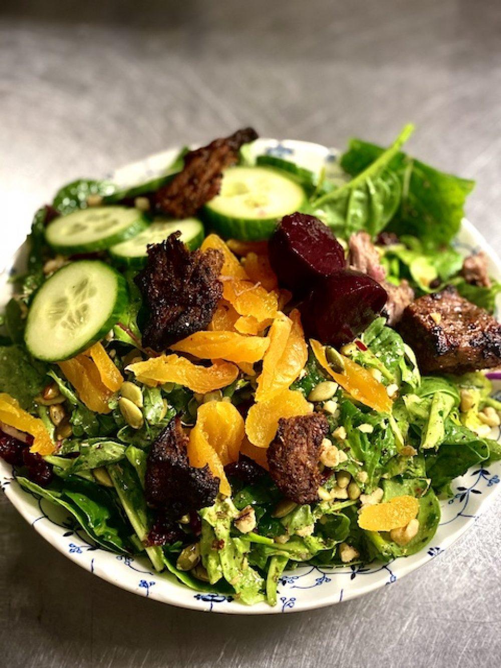 Oda Salad W Lamb