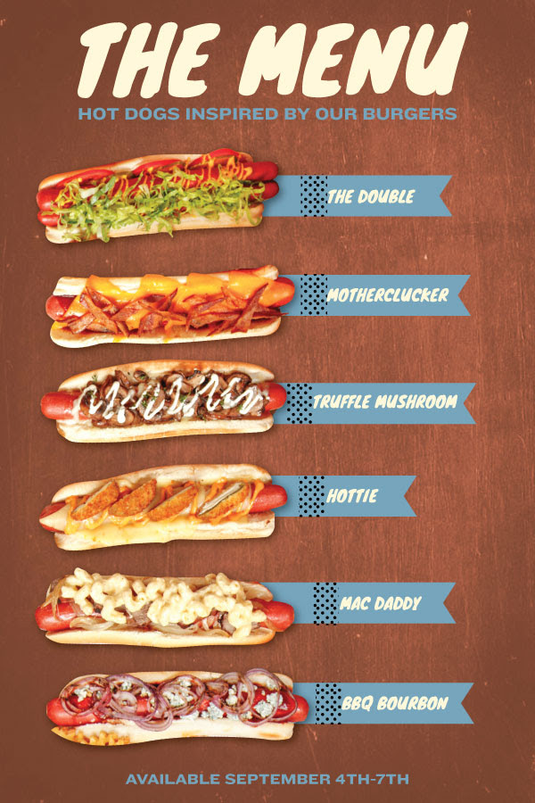 Labor Day Hot Dog Takeover At Rockit Burger Bar Chicago