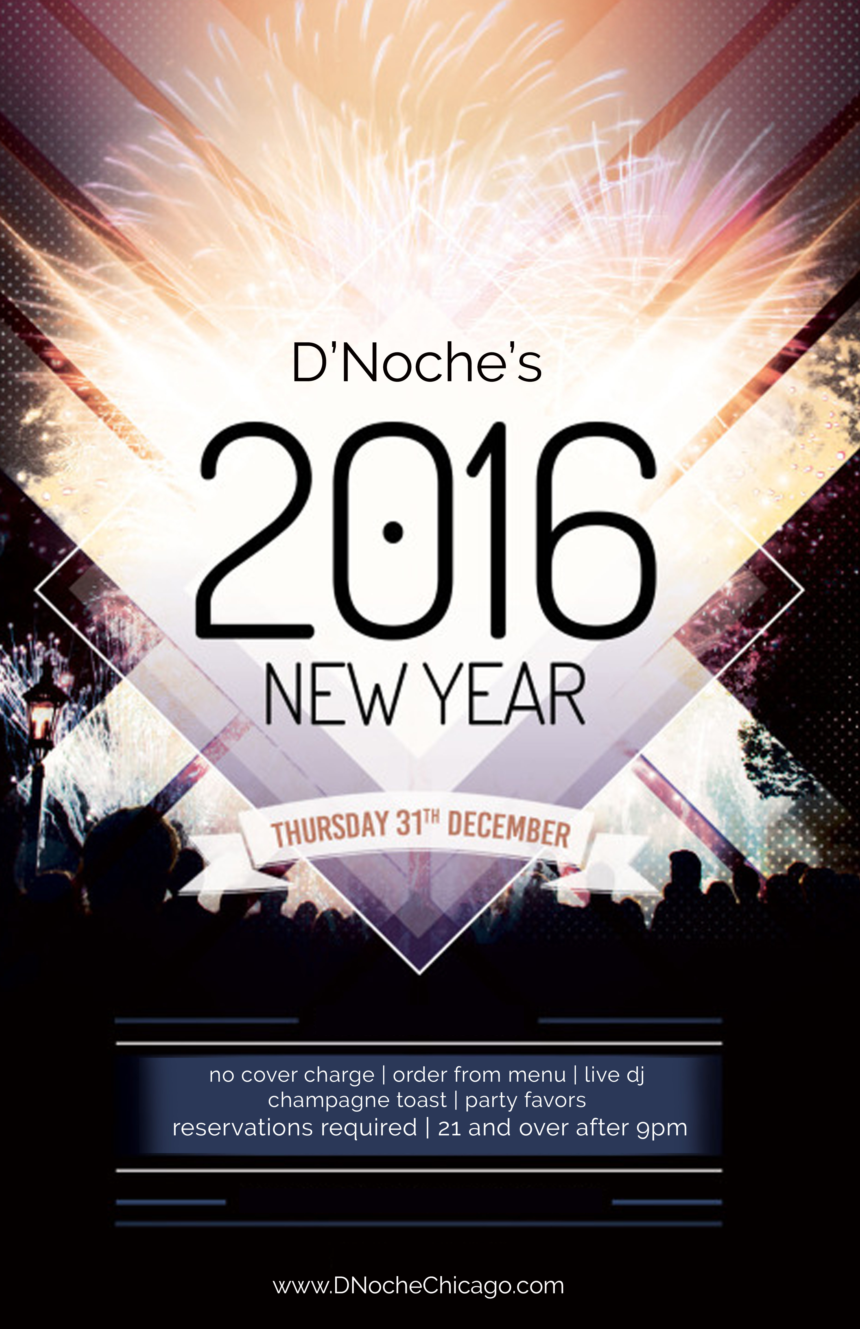 New Year\'s Eve at D\'Noche | Chicago Food Magazine