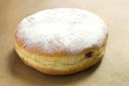 National Jelly Filled Doughnut Day at Firecakes