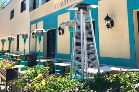 Le Sud Opens Sidewalk Cafe and Offers Happy Hour