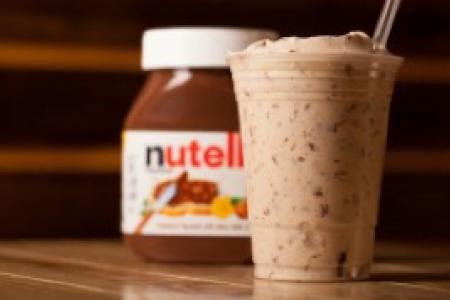 Nutella Milkshakes at M Burger
