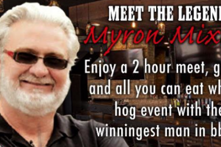 Cuisine barbecue page 4 chicago food magazine meet and greet with celebrity barbecue chef myron mixon m4hsunfo