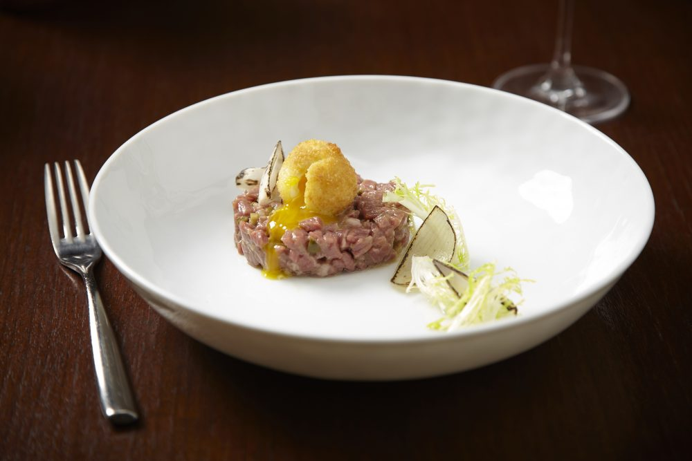 Hearth steak-tartare