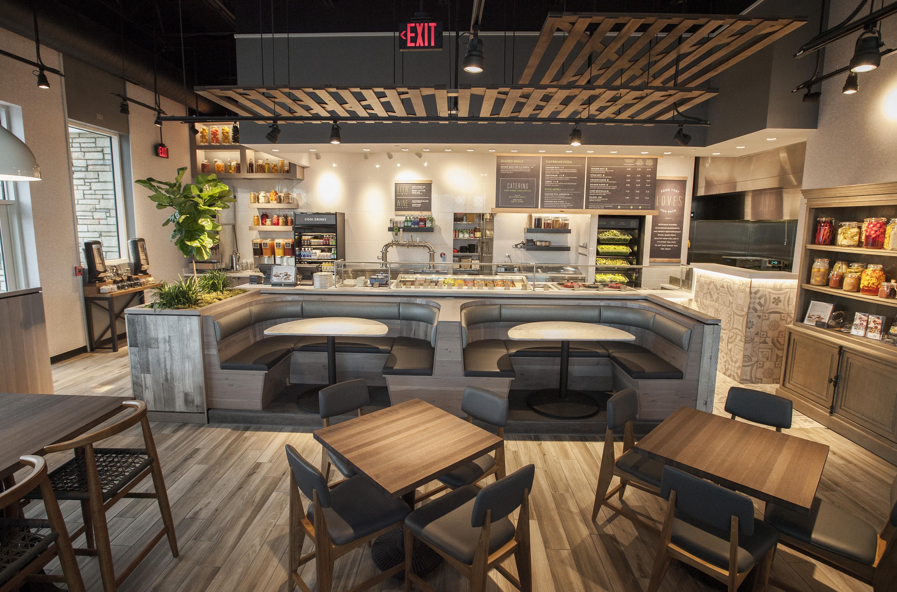 Roti modern mediterranean second location now open in