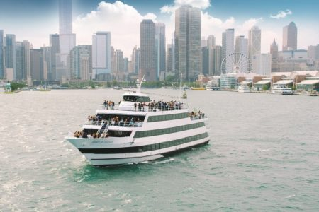 Lake Michigan Special Lunch and Moonlight Cruises in Honor of NBA All-Star Game Weekend