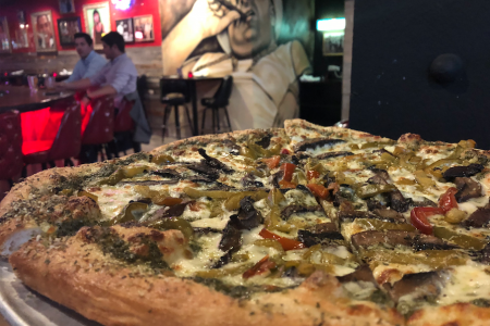 Pizza Wheels and Happy Hour Deals at Vinny's Pizza Bar