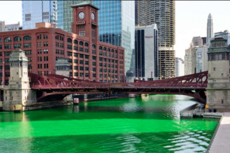 Dye the River Green - St. Patty's Day Specials in Chicago