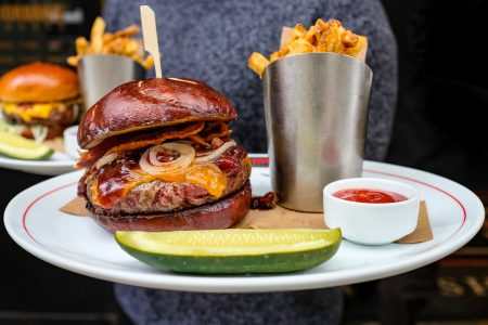 Michael Jordan's Steak House Chicago Celebrates National Burger Month with Exclusive Weekly Burgers