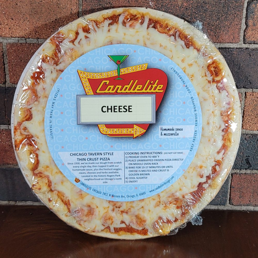Candlelite Cheese Pizza 1 With Label