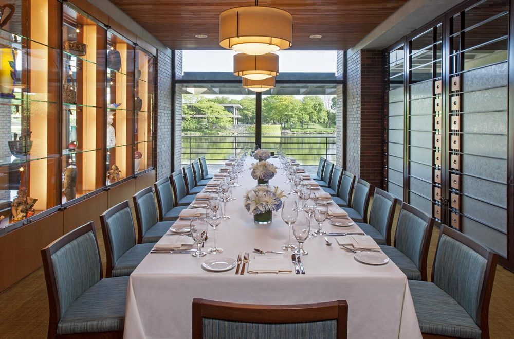 Dining At Hyatt Lodge