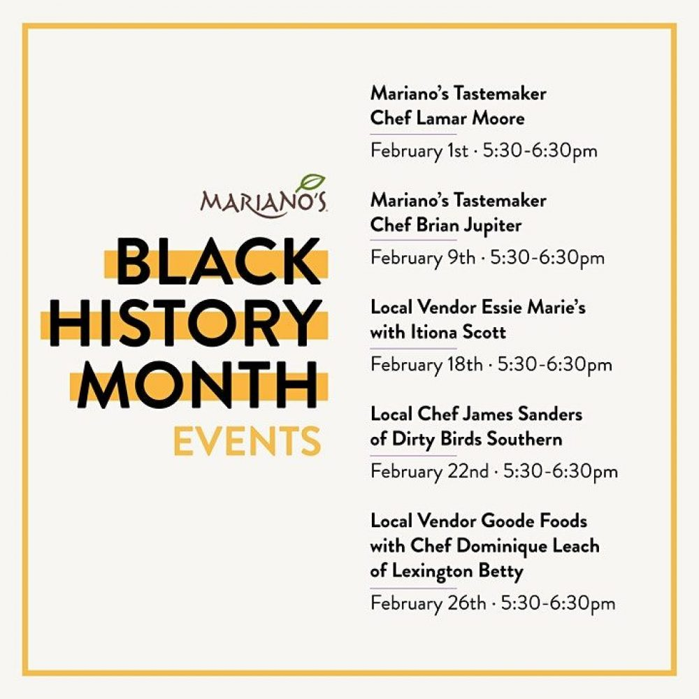 Marianos Black History Month
