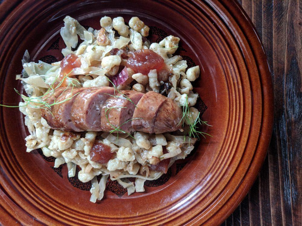 Sausage Dish