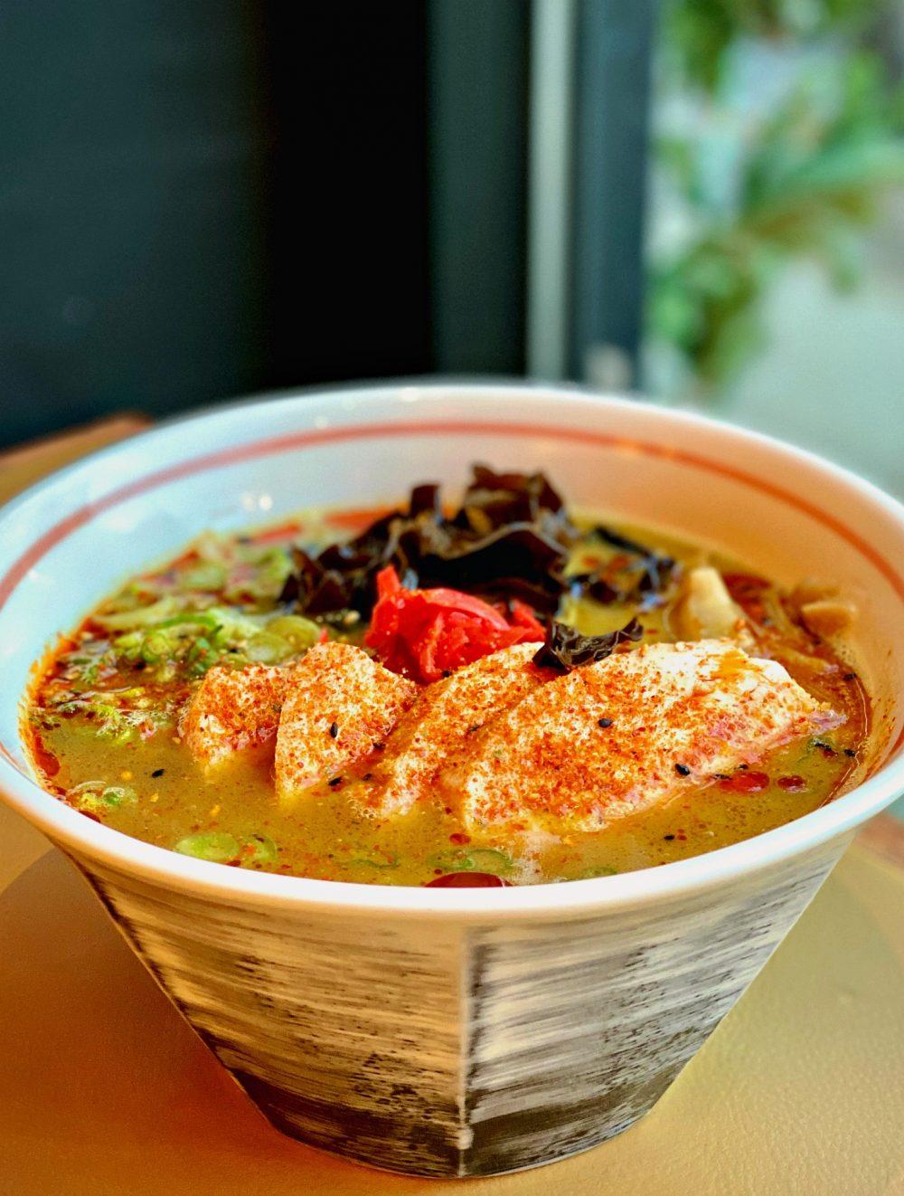 Curry Ramen with Chicken Chashu