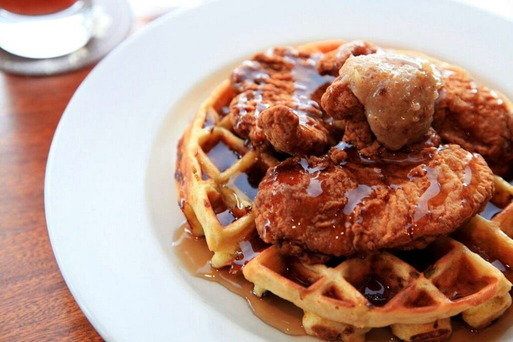 Hutch's Chicken and Waffles
