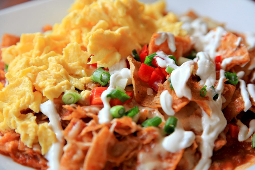 Hutch chilaquiles
