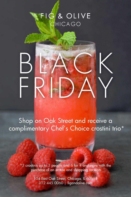 Black Friday at FIG & OLIVE