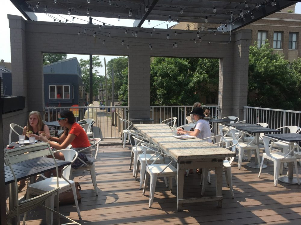 Goddess and Grocer Outdoor Patio