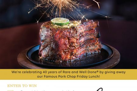Perry's Steakhouse & Grille Celebrates Four Decades