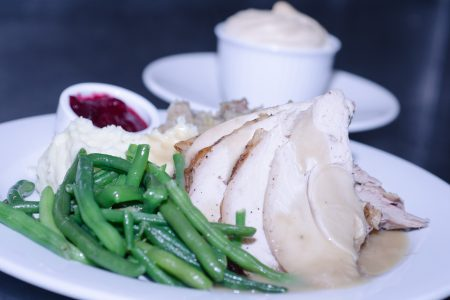 Family Thanksgiving Dinner Feast at Prairie Grass Cafe in Northbrook