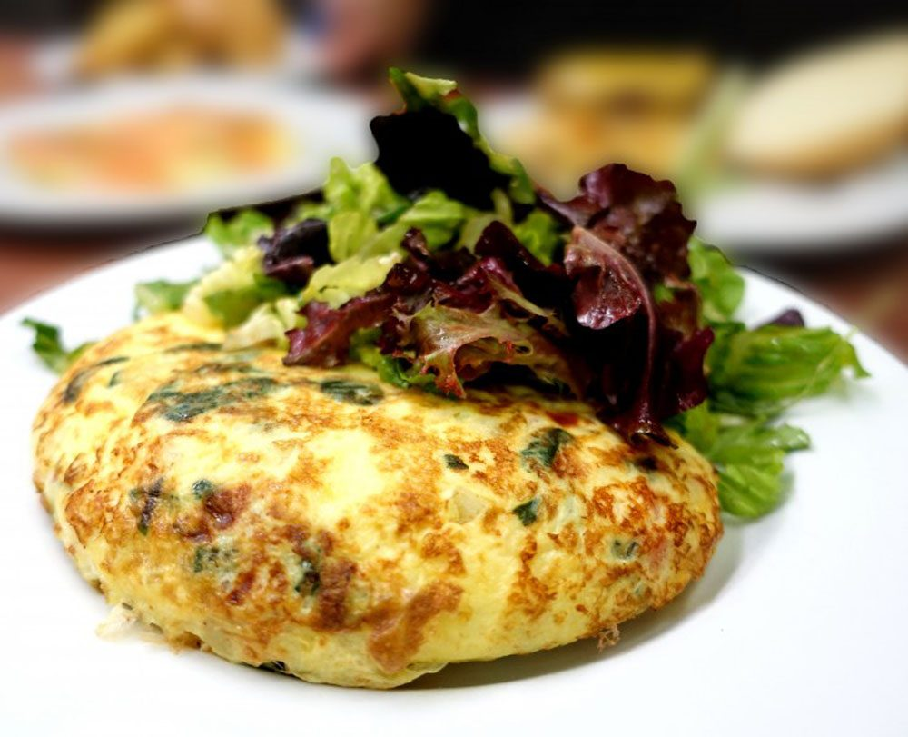 Made-to-Order Omelet at Prairie Grass Cafe. Photo by Cindy Kurman