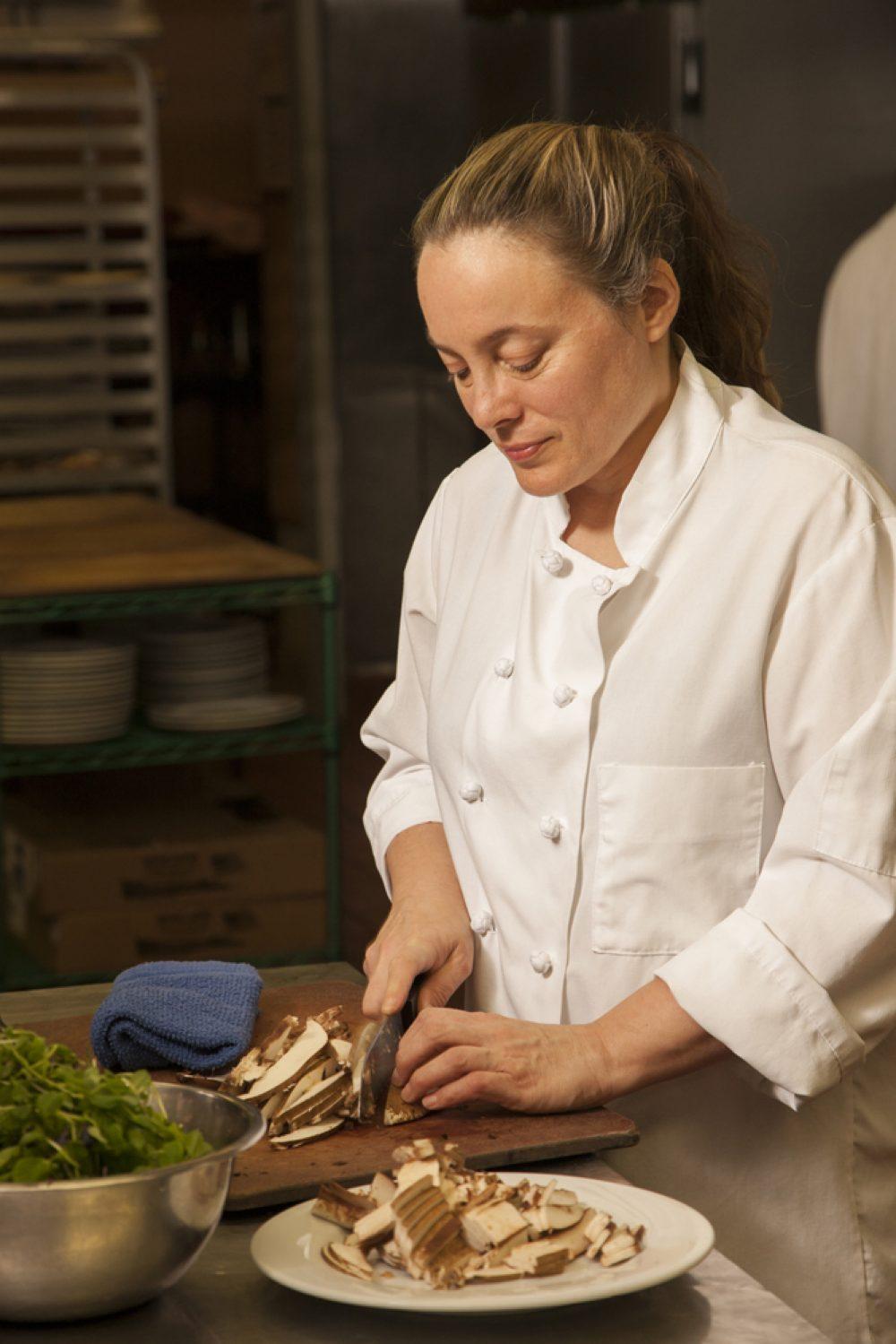Sarah Stegner, co-owner/chef, Prairie Grass Cafe